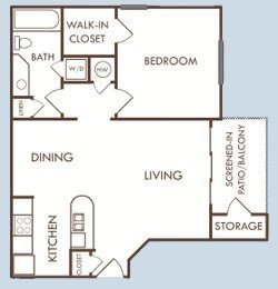 1 Bedroom 1 Bathroom Apartment for rent at Savannah Rentals in Gainesville, FL