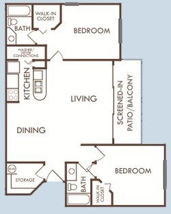 2 Bedrooms 2 Bathrooms Apartment for rent at Savannah Rentals in Gainesville, FL