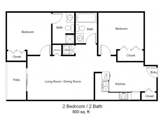 2 Bedrooms 2 Bathrooms Apartment for rent at Park Avenue West in Denver, CO