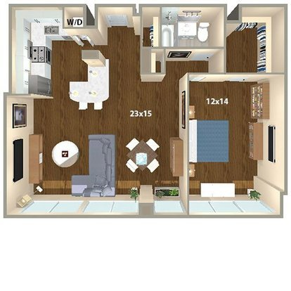 1 Bedroom 1 Bathroom Apartment for rent at The Sterling in Philadelphia, PA