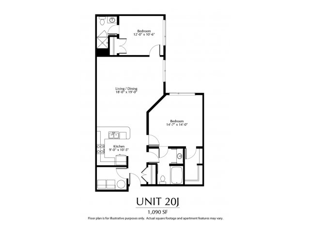 2 Bedrooms 2 Bathrooms Apartment for rent at The District in Denver, CO