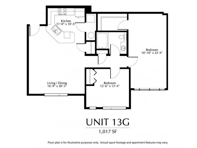 2 Bedrooms 1 Bathroom Apartment for rent at The District in Denver, CO