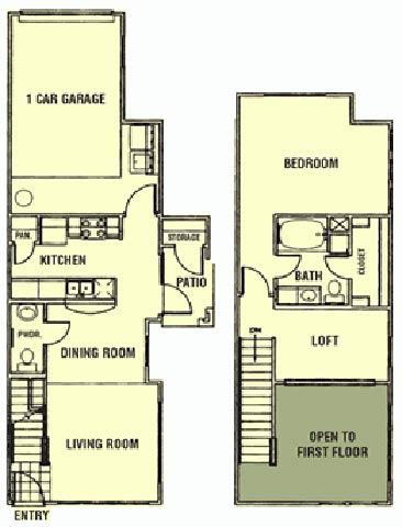 1 Bedroom 2 Bathrooms Apartment for rent at Providence Estates in San Antonio, TX