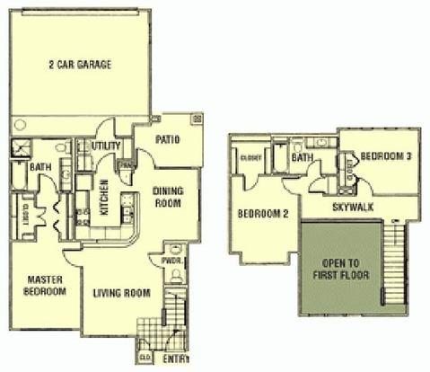 3 Bedrooms 3 Bathrooms Apartment for rent at Providence Estates in San Antonio, TX