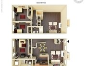3 Bedrooms 2 Bathrooms Apartment for rent at The Fountains Of San Antonio in San Antonio, TX
