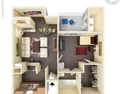 1 Bedroom 1 Bathroom Apartment for rent at Sierra Ridge Apartments in San Antonio, TX
