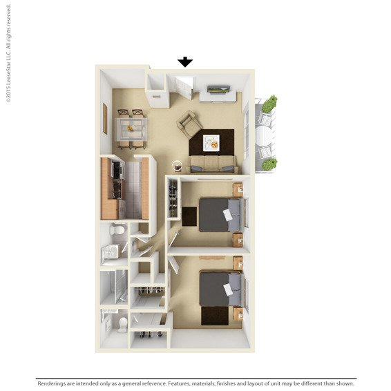 2 Bedrooms 2 Bathrooms Apartment for rent at Harrisburg Square Apartments in Omaha, NE