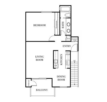1 Bedroom 1 Bathroom Apartment for rent at Terra Willow Glen in San Jose, CA
