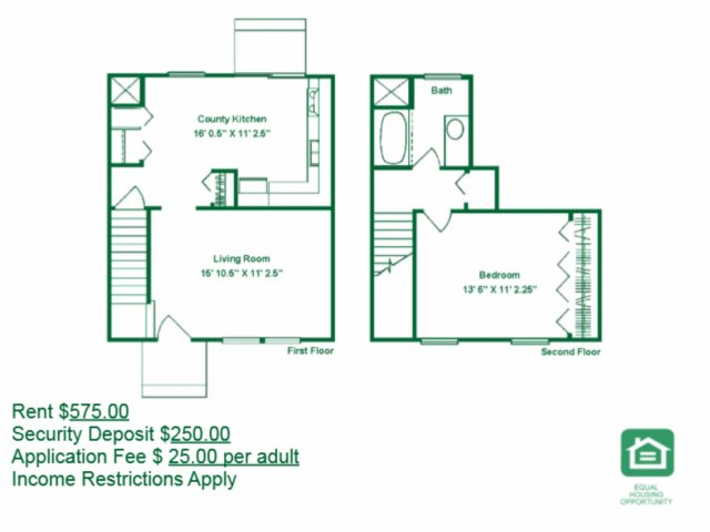 1 Bedroom 1 Bathroom Apartment for rent at Berwick Grove in Columbus, OH