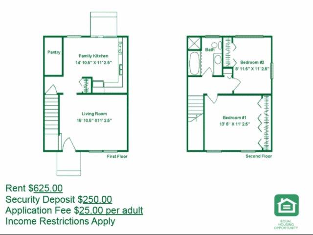 2 Bedrooms 1 Bathroom Apartment for rent at Berwick Grove in Columbus, OH