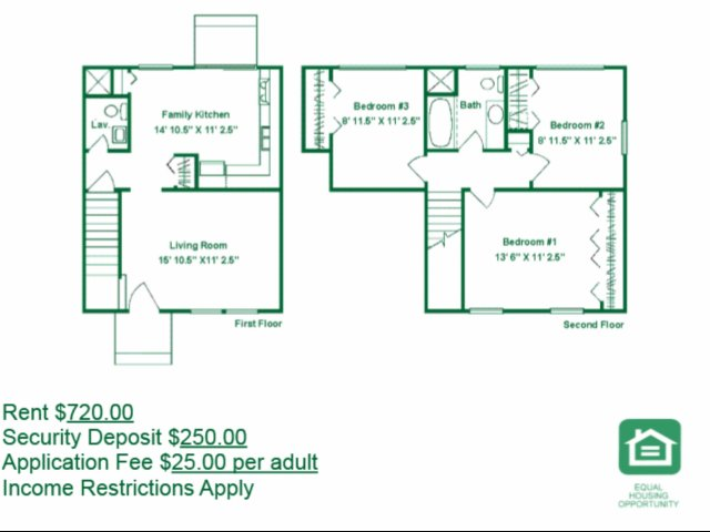 3 Bedrooms 2 Bathrooms Apartment for rent at Berwick Grove in Columbus, OH
