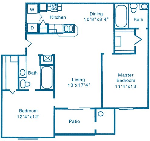 2 Bedrooms 2 Bathrooms Apartment for rent at Reflections in Gainesville, FL