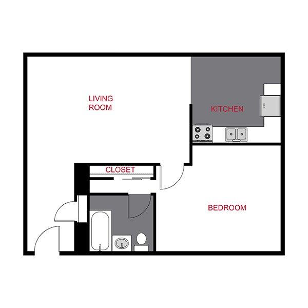 1 Bedroom 1 Bathroom Apartment for rent at 929 Marion Street in Denver, CO