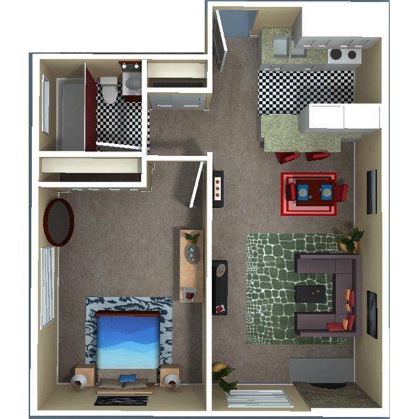 1 Bedroom 1 Bathroom Apartment for rent at 1430 Humboldt Street in Denver, CO