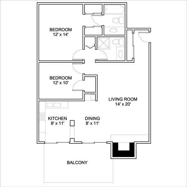 Corsican Apartments Denver, CO