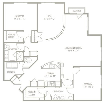 2 Bedrooms 2 Bathrooms Apartment for rent at The Boulevard At Oakley Station in Cincinnati, OH