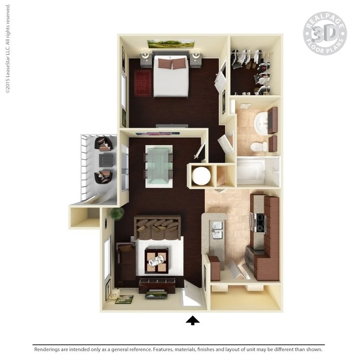 1 Bedroom 1 Bathroom Apartment for rent at Anson At The Lakes in Charlotte, NC
