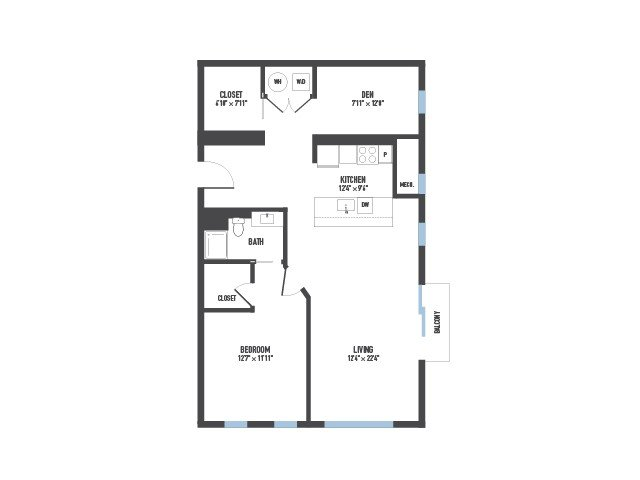 1 Bedroom 1 Bathroom Apartment for rent at Arsenal 201 in Pittsburgh, PA