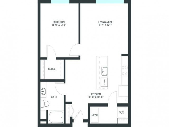 1 Bedroom 1 Bathroom Apartment for rent at Vim + Vigor in Milwaukee, WI