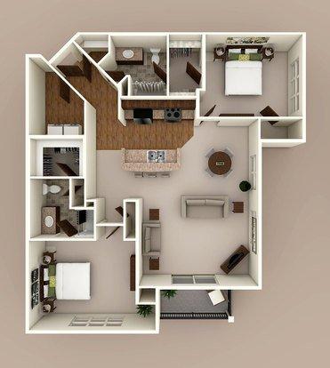 2 Bedrooms 2 Bathrooms Apartment for rent at Siena Ridge in Verona, WI