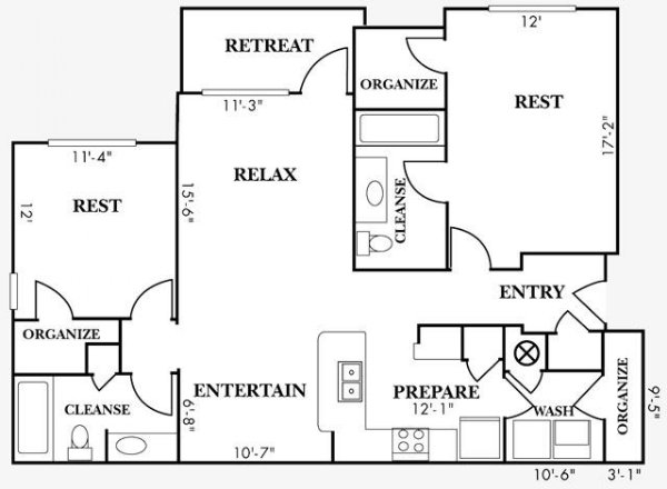 2 Bedrooms 2 Bathrooms Apartment for rent at Bell Cahaba River in Birmingham, AL