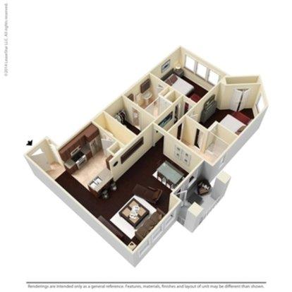 2 Bedrooms 2 Bathrooms Apartment for rent at Cibolo Canyon Apartments in San Antonio, TX