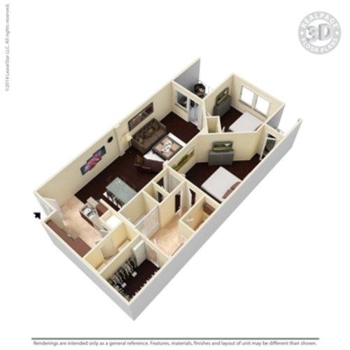 1 Bedroom 1 Bathroom Apartment for rent at Cibolo Canyon Apartments in San Antonio, TX