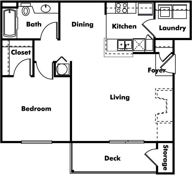 1 Bedroom 1 Bathroom Apartment for rent at Arbors At Cahaba River in Birmingham, AL