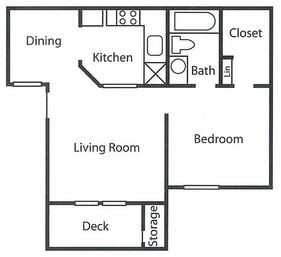 1 Bedroom 1 Bathroom Apartment for rent at W Flats in Charlotte, NC