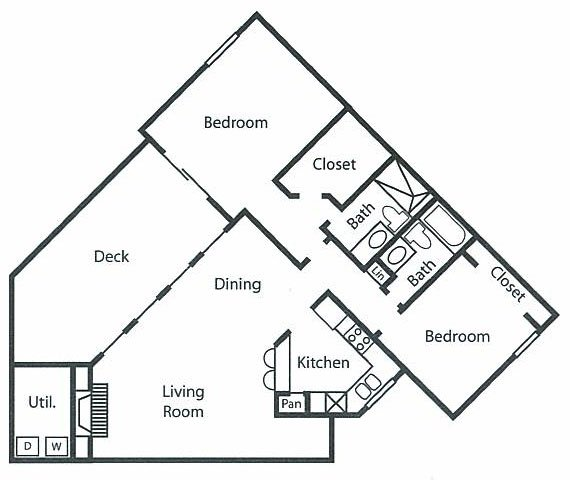 2 Bedrooms 2 Bathrooms Apartment for rent at W Flats in Charlotte, NC