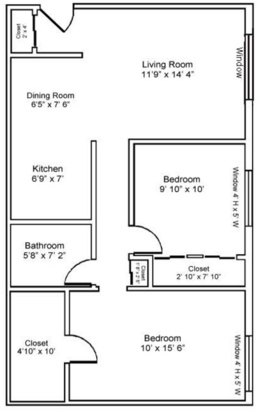 2 Bedrooms 1 Bathroom Apartment for rent at Lisa Ridge Apartments in Cincinnati, OH