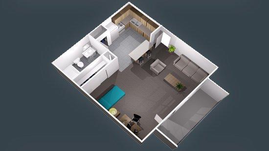 Studio 1 Bathroom Apartment for rent at Centennial Court in Arlington, TX