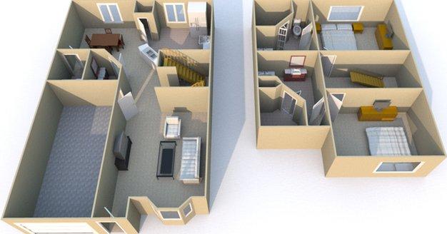 2 Bedrooms 3 Bathrooms Apartment for rent at Retreat At Mesa Hills in El Paso, TX