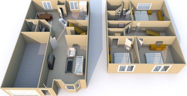 3 Bedrooms 3 Bathrooms Apartment for rent at Retreat At Mesa Hills in El Paso, TX