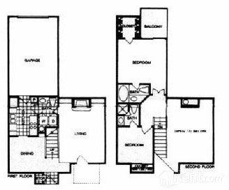 2 Bedrooms 2 Bathrooms Apartment for rent at Park At Ashford in Arlington, TX