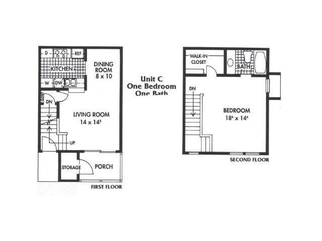 1 Bedroom 1 Bathroom Apartment for rent at Biltmore Park Apartments in San Antonio, TX