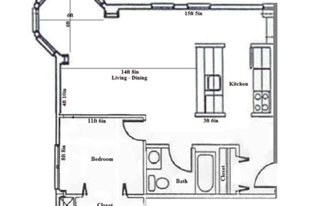 1 Bedroom 1 Bathroom Apartment for rent at Arkadia in Madison, WI