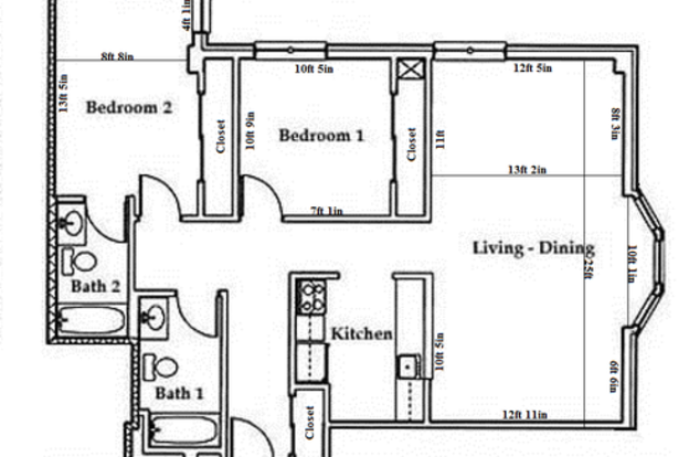2 Bedrooms 2 Bathrooms Apartment for rent at Butler Plaza in Madison, WI