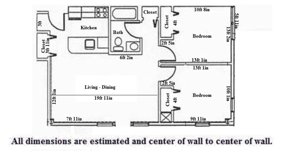 2 Bedrooms 1 Bathroom Apartment for rent at Arkadia in Madison, WI