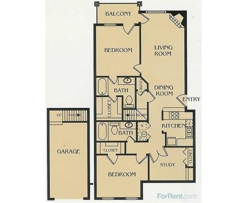 2 Bedrooms 2 Bathrooms Apartment for rent at Park At Walker's Ranch in San Antonio, TX