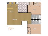 2 Bedrooms 2 Bathrooms Apartment for rent at Riverbend Apartments in Arlington, TX