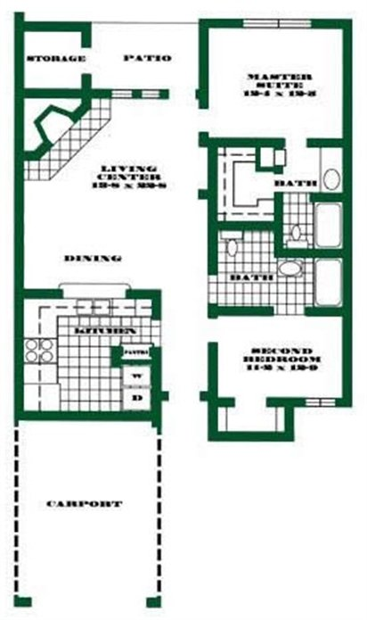 2 Bedrooms 2 Bathrooms Apartment for rent at Oaks Of Arlington in Arlington, TX