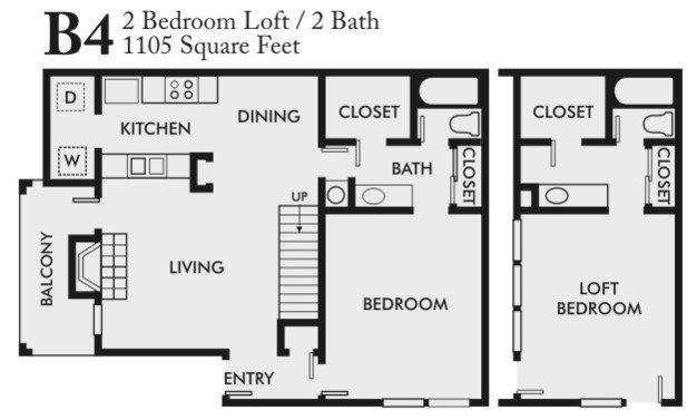 2 Bedrooms 2 Bathrooms Apartment for rent at Arlington Oaks in Arlington, TX