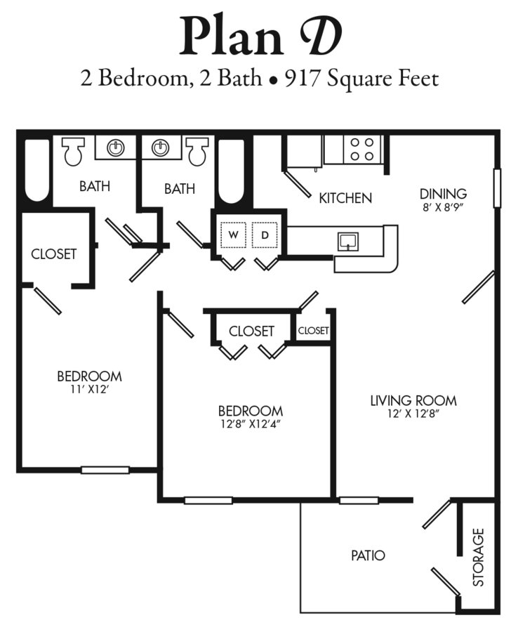 2 Bedrooms 2 Bathrooms Apartment for rent at The Villages At Johnson Creek in Arlington, TX