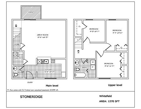 3 Bedrooms 2 Bathrooms Apartment for rent at Stoneridge in Dayton, OH