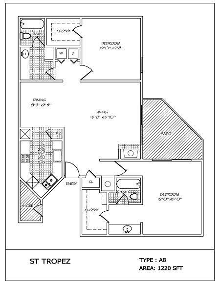 2 Bedrooms 2 Bathrooms Apartment for rent at 4000 Horizon Hill in San Antonio, TX