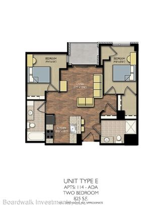 2 Bedrooms 2 Bathrooms Apartment for rent at Park Place in Madison, WI