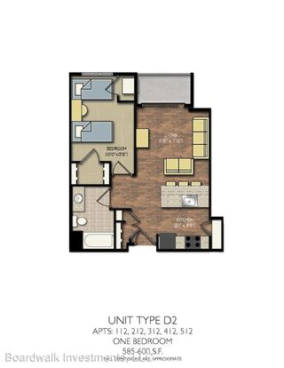 1 Bedroom 1 Bathroom Apartment for rent at Park Place in Madison, WI