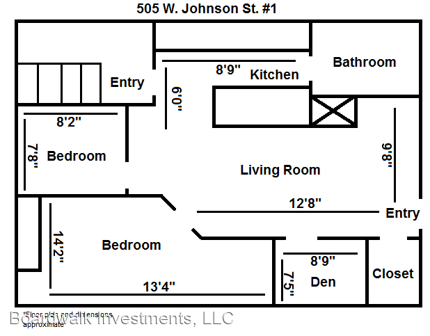 2 Bedrooms 1 Bathroom Apartment for rent at 505 W Johnson St in Madison, WI