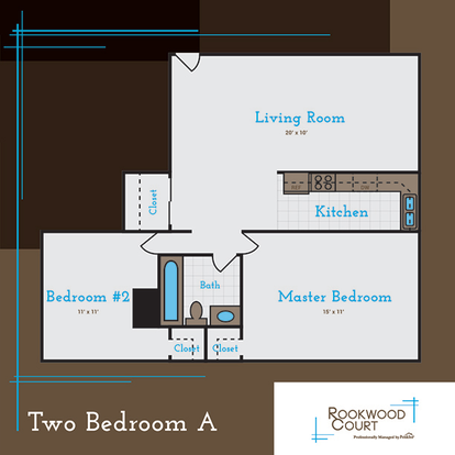 2 Bedrooms 1 Bathroom Apartment for rent at Rookwood Court in Cincinnati, OH
